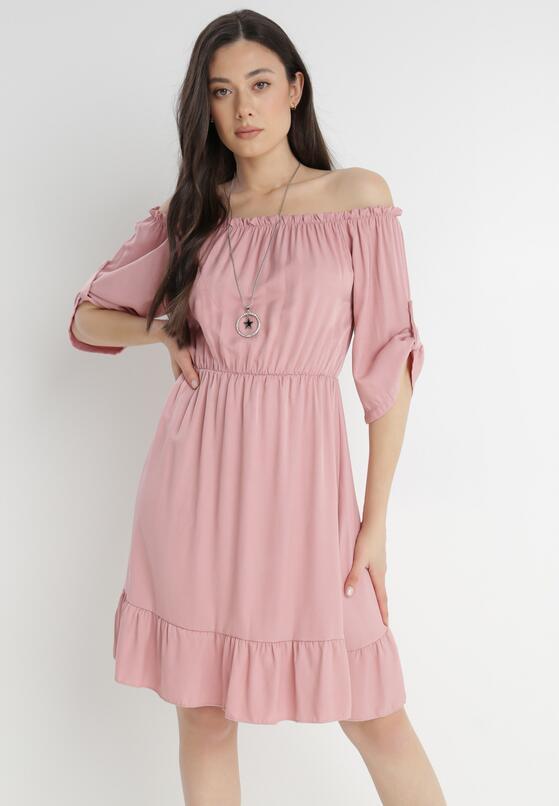 Różowa Sukienka Zaehorin