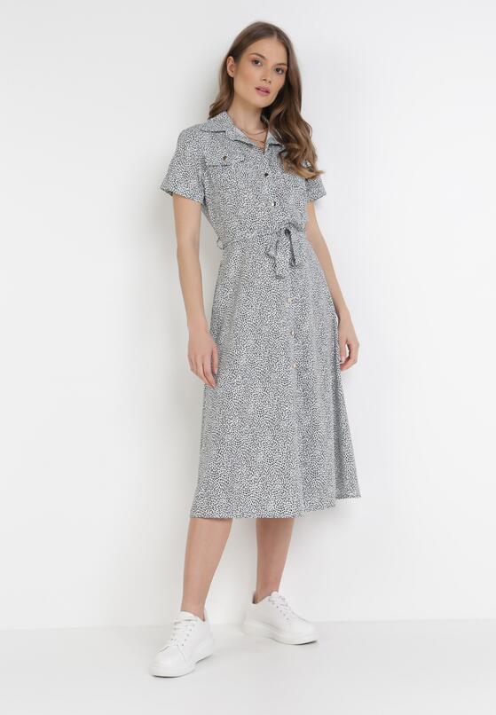 Biała Sukienka Zaehtila