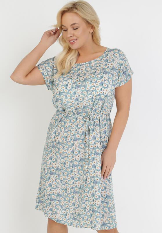 Jasnoniebieska Sukienka Fyseriana
