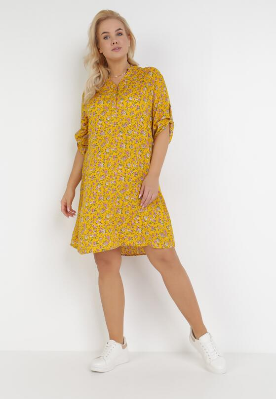 Żółta Sukienka Fyrelaris