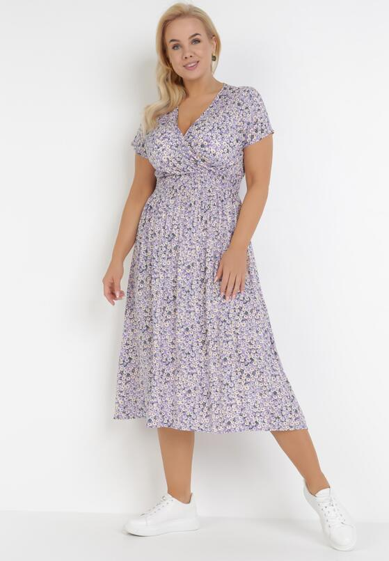 Liliowa Sukienka Lynnelin