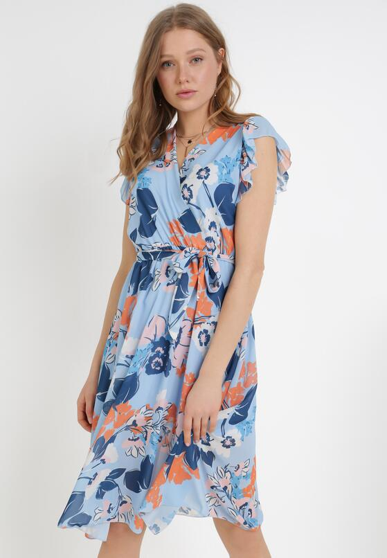 Jasnoniebieska Sukienka Xenvyn
