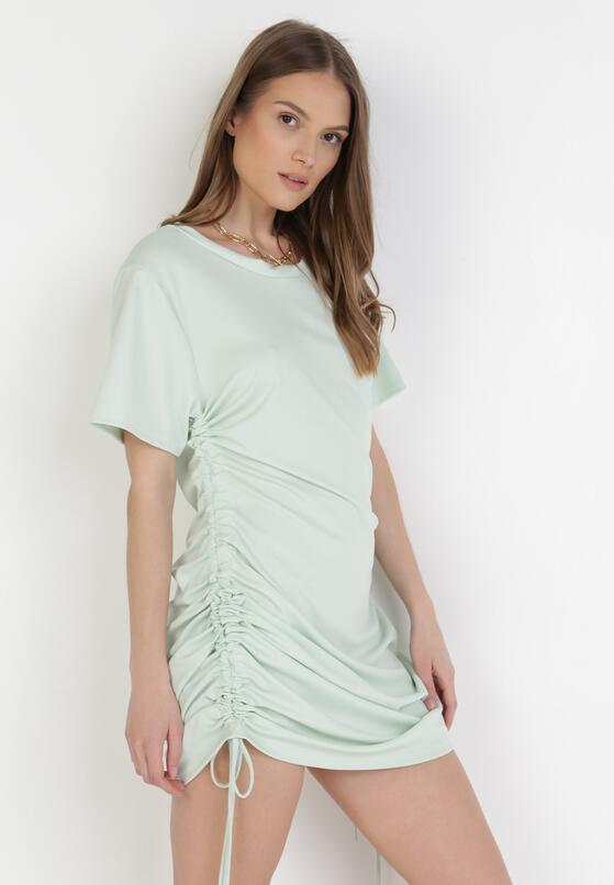 Miętowa Sukienka Wylinorin
