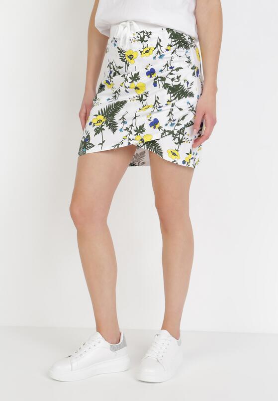 Biało-Żółta Spódnica Corosesis