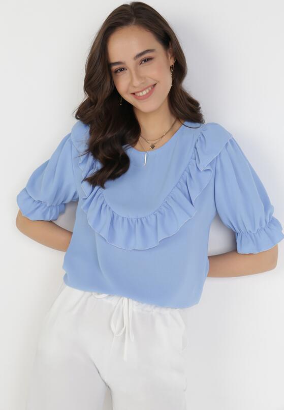 Niebieska Bluzka Isirienne
