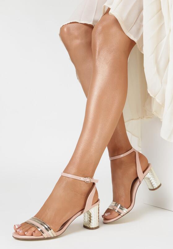 Różowe Sandały Nymvyra