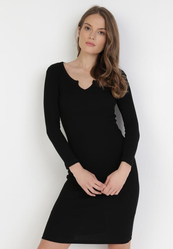 Czarna Sukienka Sirelise