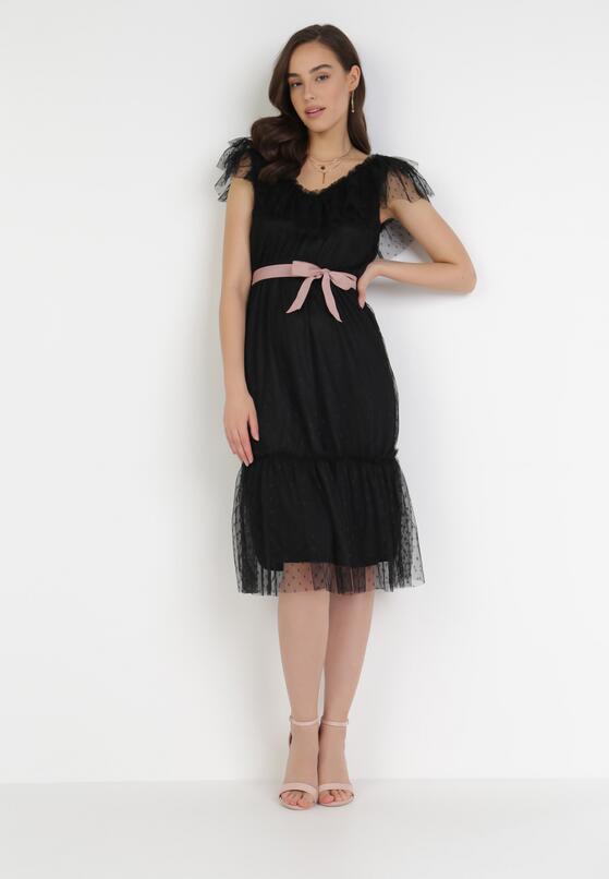 Czarna Sukienka Loraille