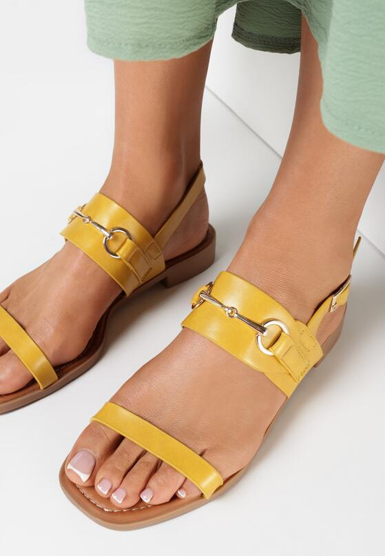 Żółte Sandały Echinea