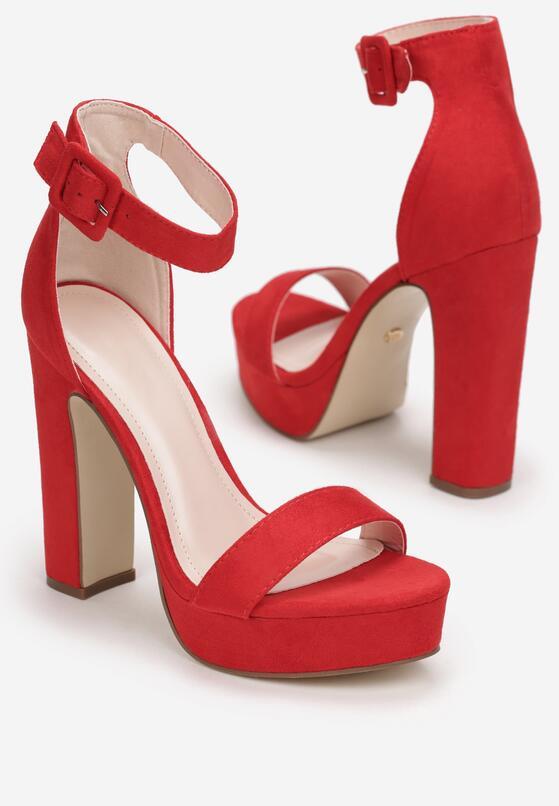 Czerwone Sandały Gathixia