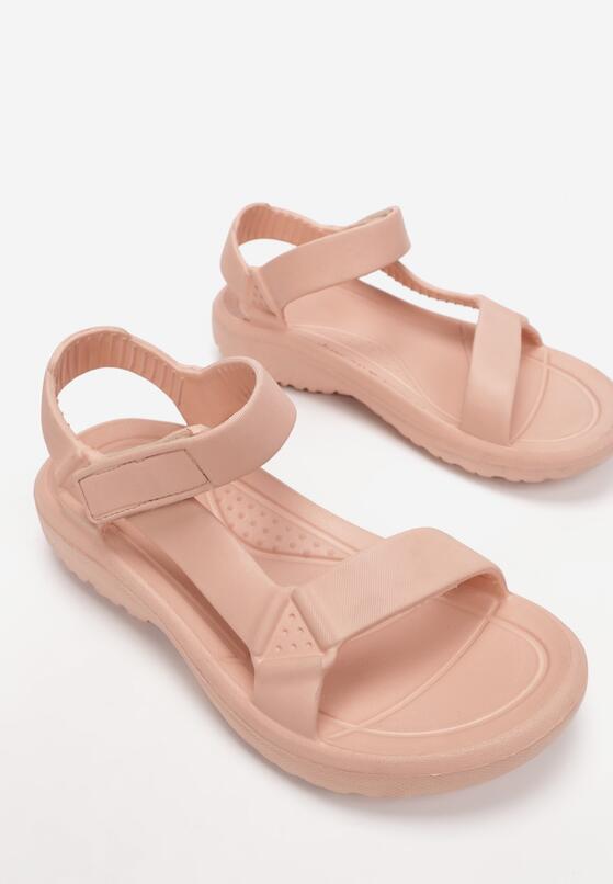 Różowe Sandały Borlaeno