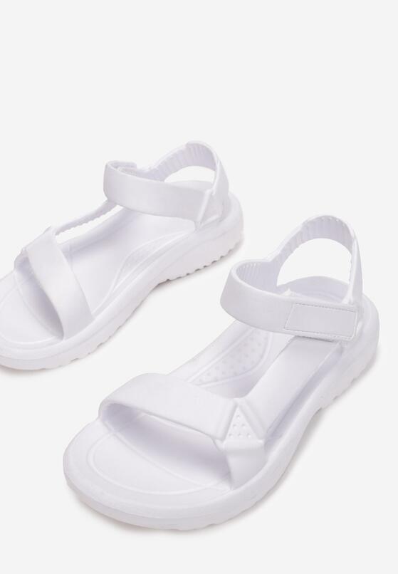Białe Sandały Borlaeno