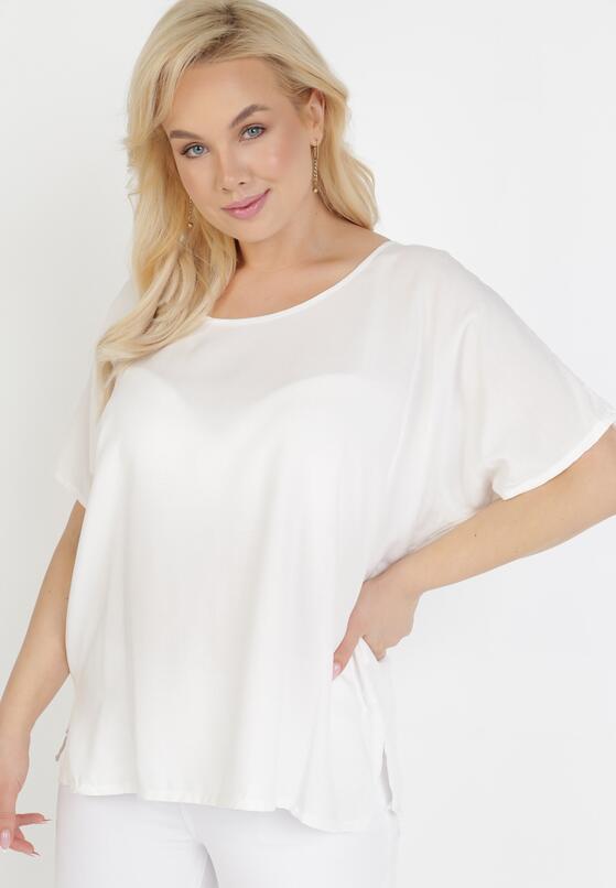 Biała Bluzka Klegenia