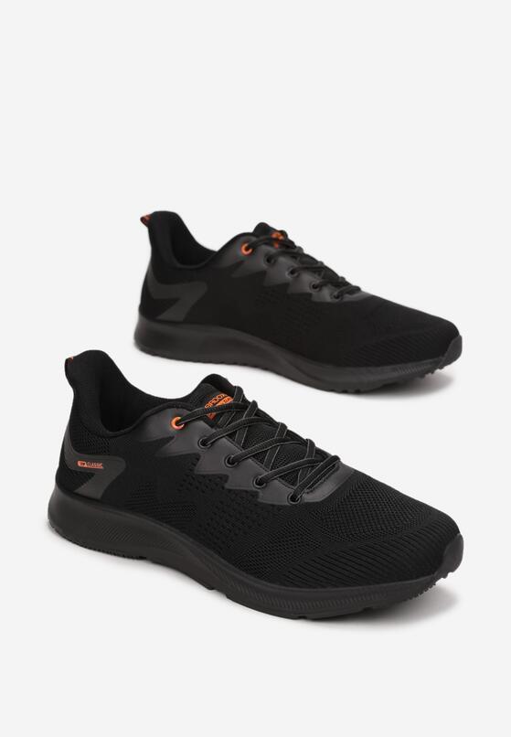 Czarno-Pomarańczowe Buty Sportowe Lagurissa