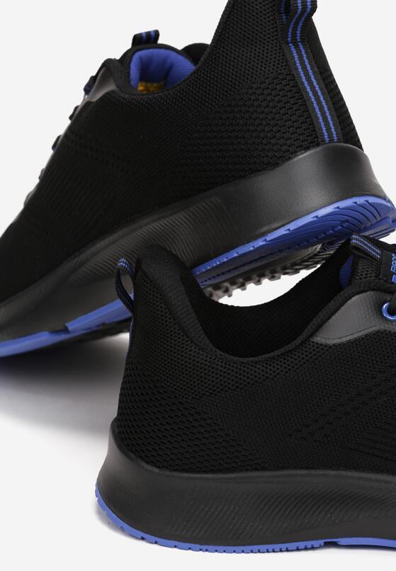Czarno-Niebieskie Buty Sportowe Nysiphite