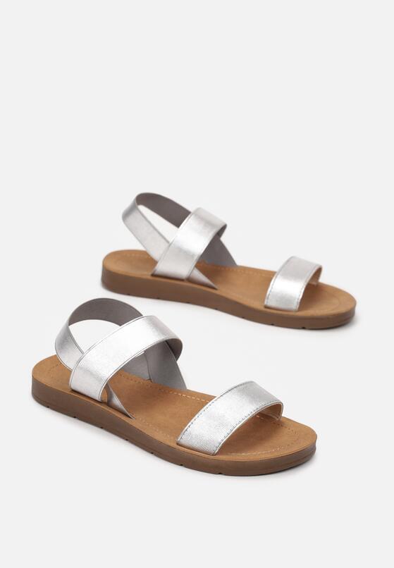 Srebrne Sandały Lamereino