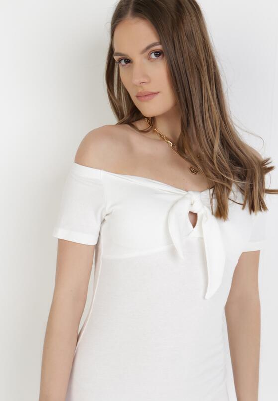 Biała Sukienka Bolimei