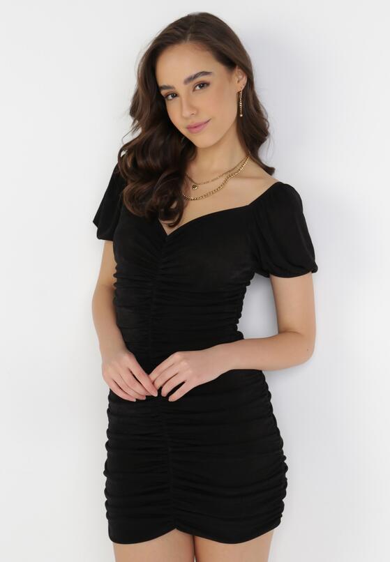 Czarna Sukienka Merisana