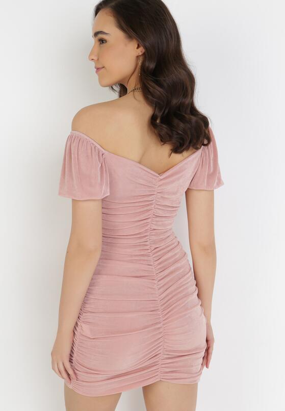 Różowa Sukienka Merisana