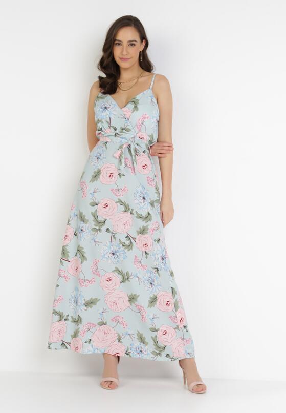 Jasnoniebieska Sukienka Pasidia