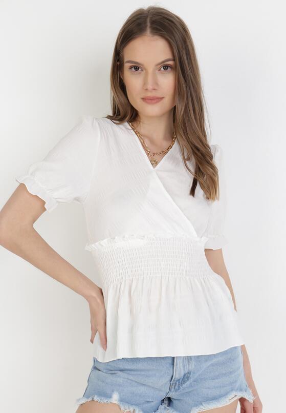 Biała Bluzka Naipeia