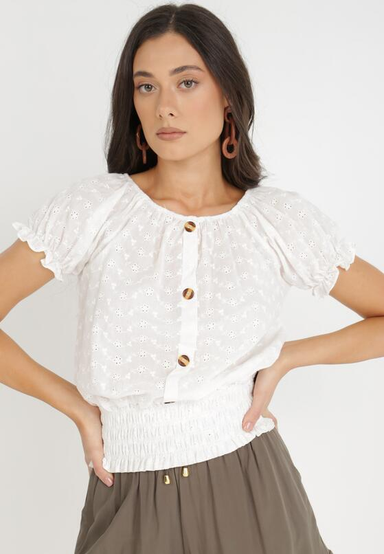 Biała Bluzka Bornilla
