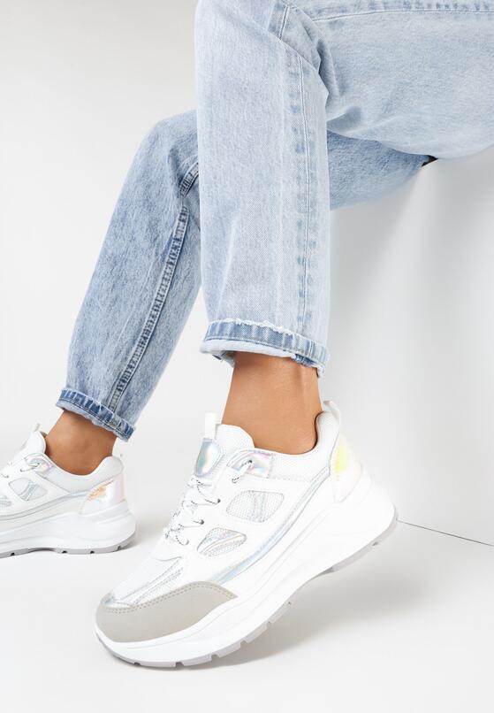 Białe Sneakersy Xenielle