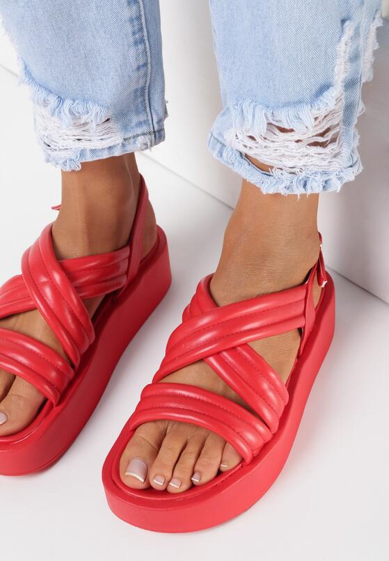 Czerwone Sandały Salariko