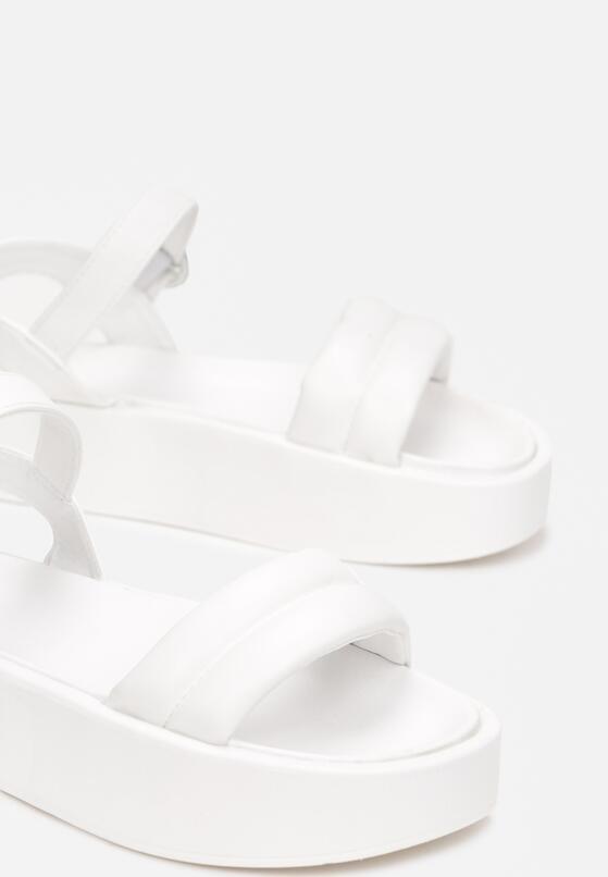 Białe Sandały Physateia