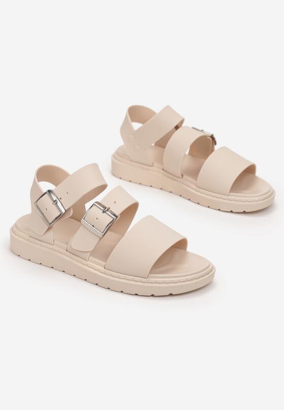 Beżowe Sandały Iphadise