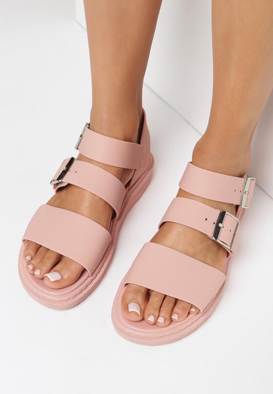Różowe Sandały Iphadise