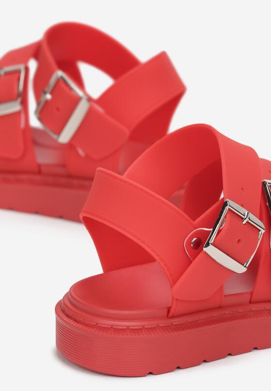 Czerwone Sandały Iphadise