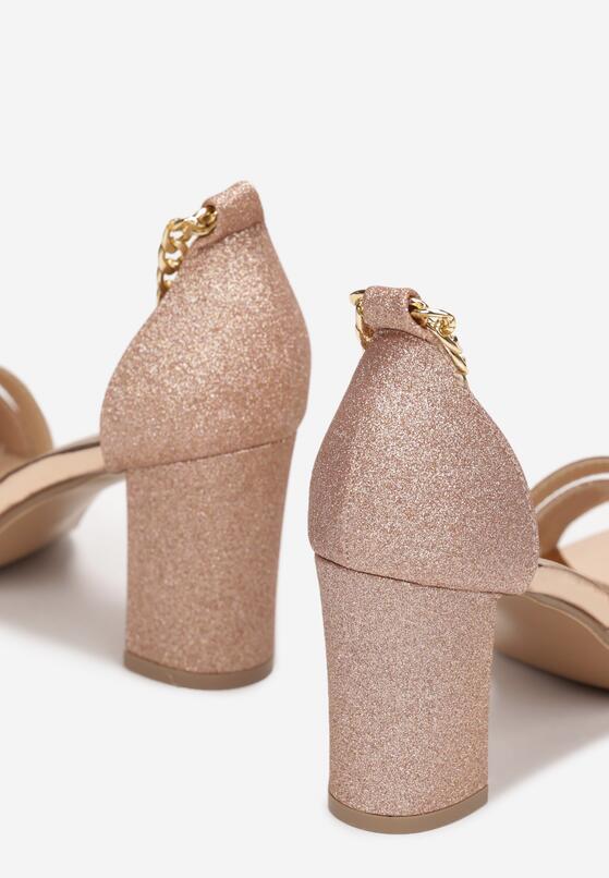 Szampańskie Sandały Delolia