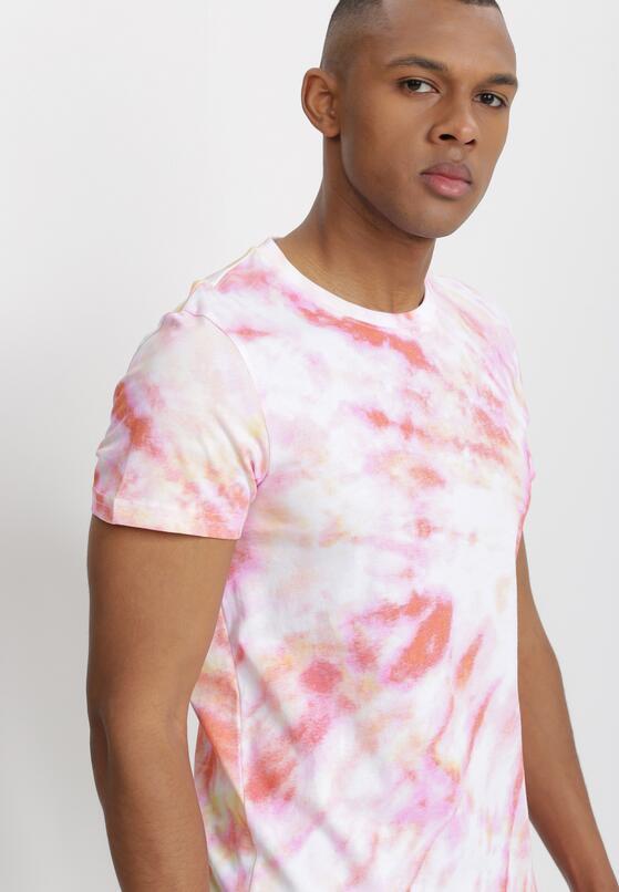 Jasnoróżowa T-shirt Lisessei