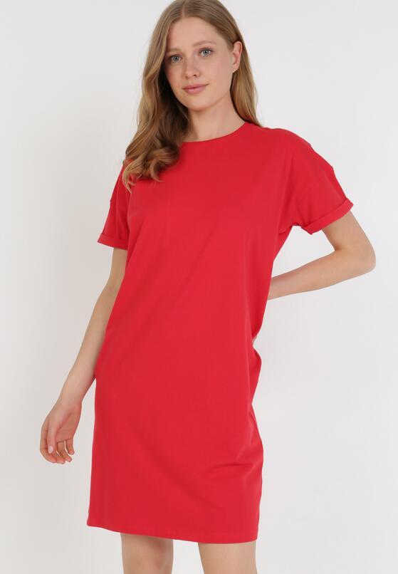 Czerwona Sukienka Coraelea