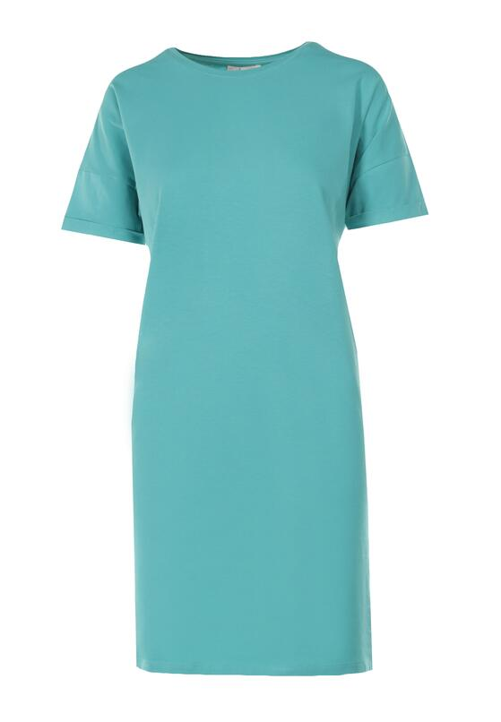 Miętowa Sukienka Coraelea