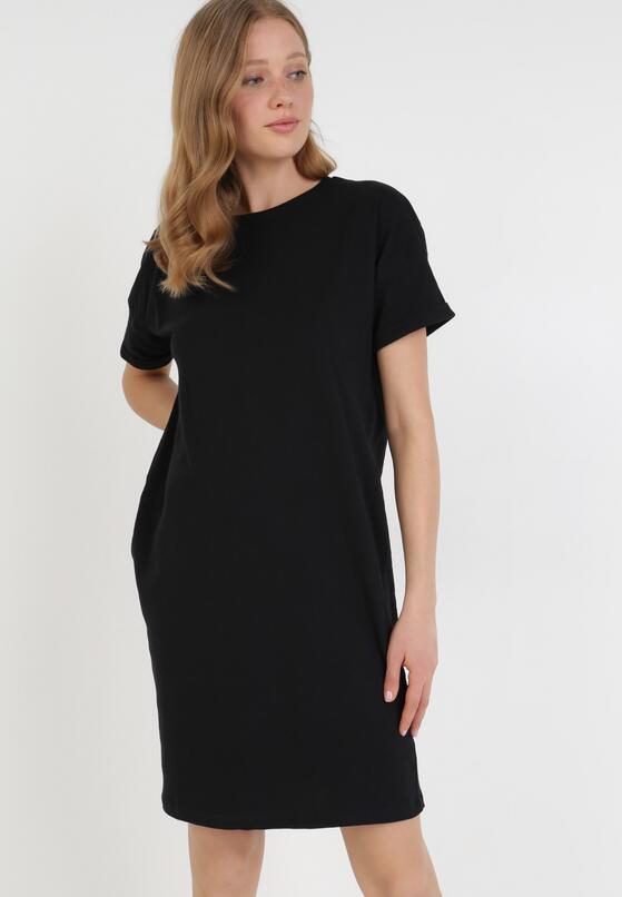 Czarna Sukienka Stefates