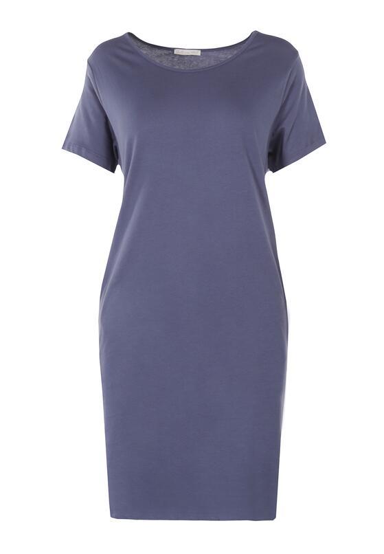 Niebieska Sukienka Hysopheu