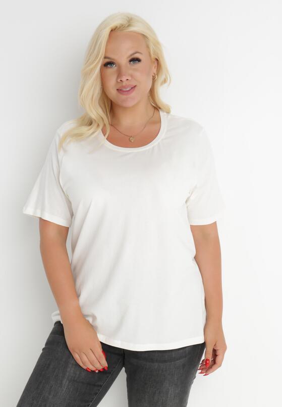 Biały T-shirt Euphosi