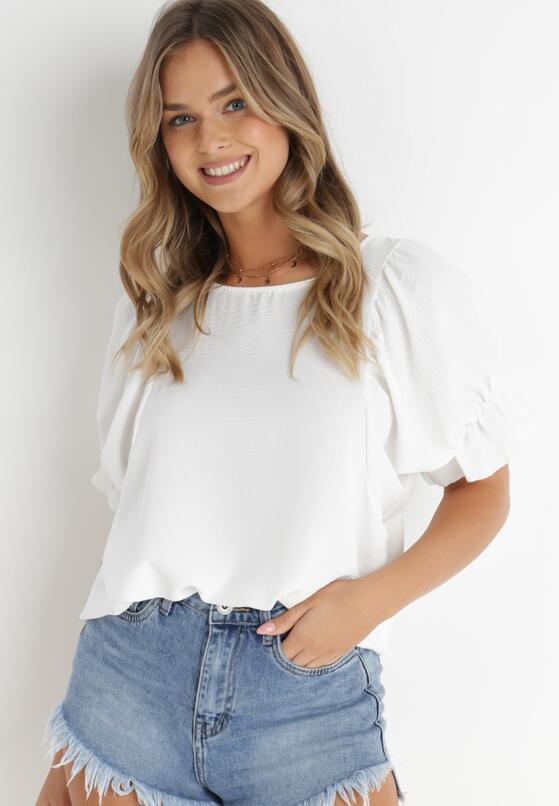 Biała Bluzka Limodanea