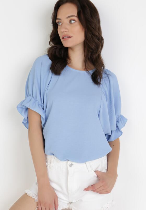 Niebieska Bluzka Limodanea