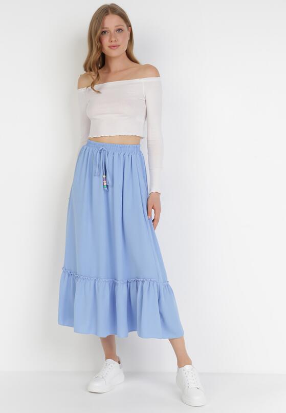 Niebieska Spódnica Dathoebus