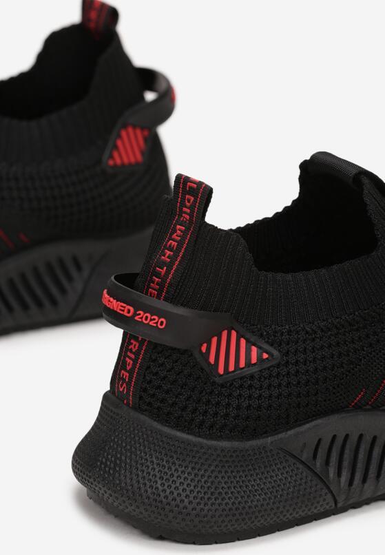 Czarne Buty Sportowe Lysistae