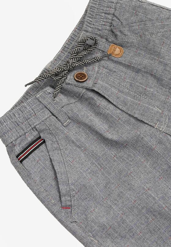 Granatowe Spodnie Neseila