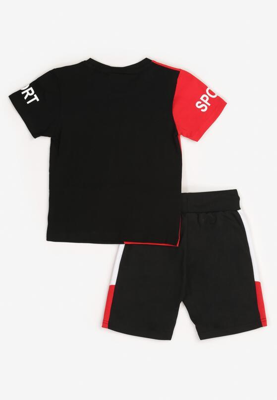 2-Częściowy Czarno-Czerwony Komplet Doraphaura