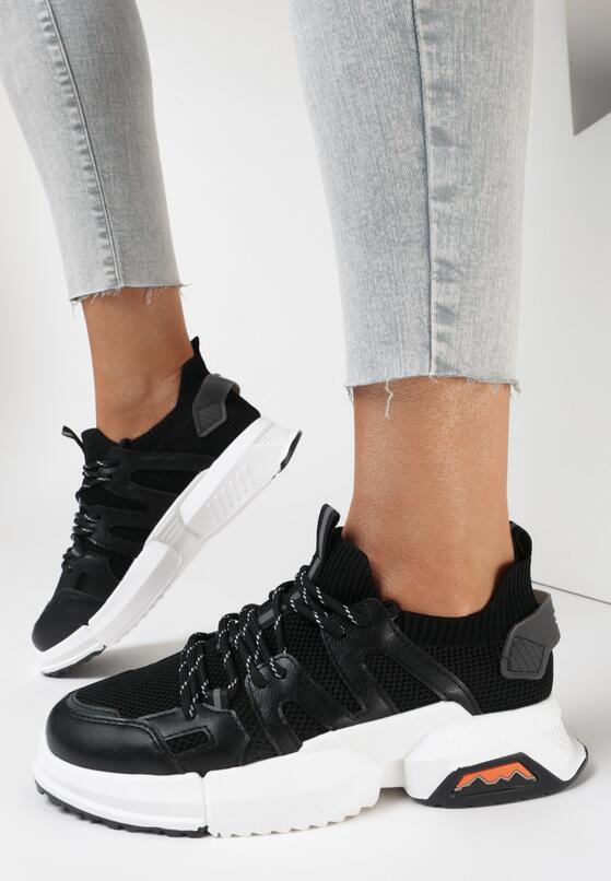 Czarne Sneakersy Pixiphi