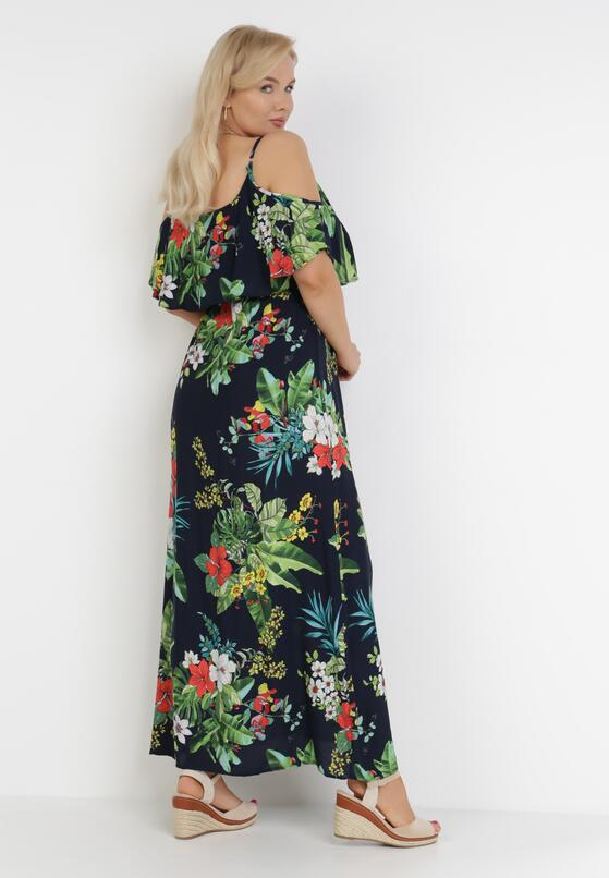Granatowa Sukienka Thalossia