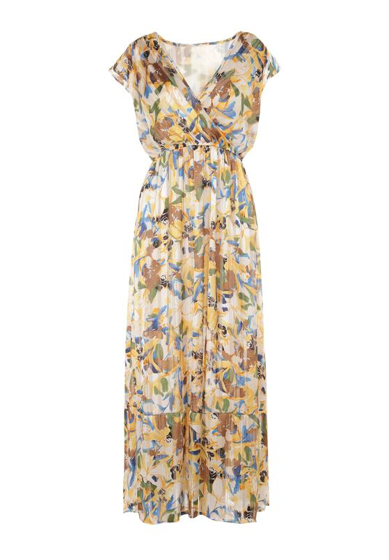 Żółta Sukienka Saphiphe