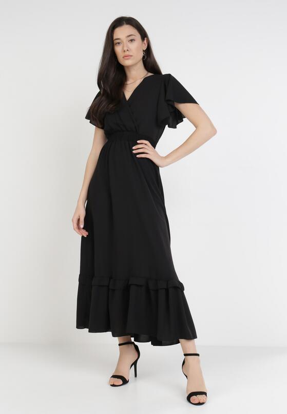 Czarna Sukienka Sylphixie