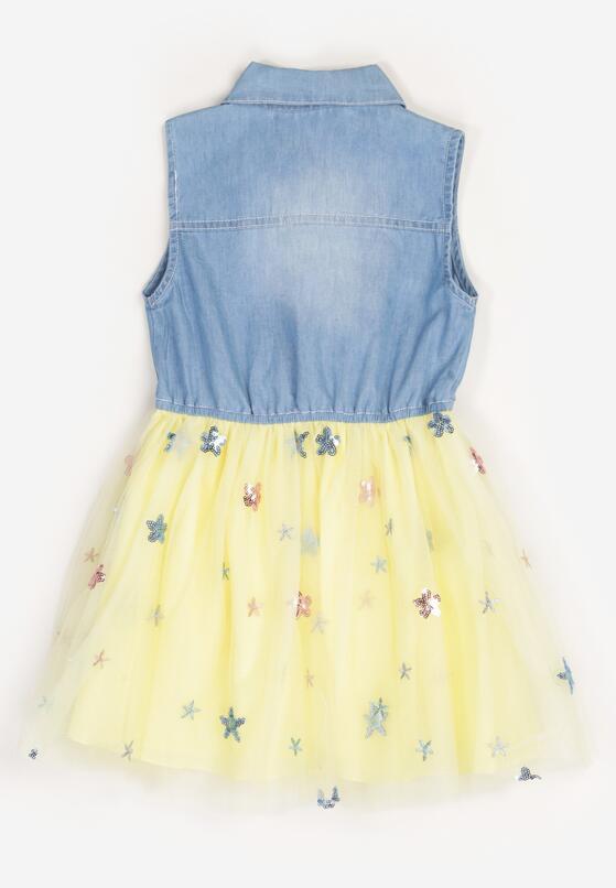 Żółta Sukienka Olithenis